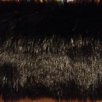 black faux fur fabric