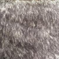 mocha grey faux fur fabric
