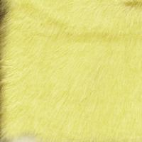 baby yellow fake fur