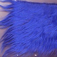 royal blue fake fur fabric